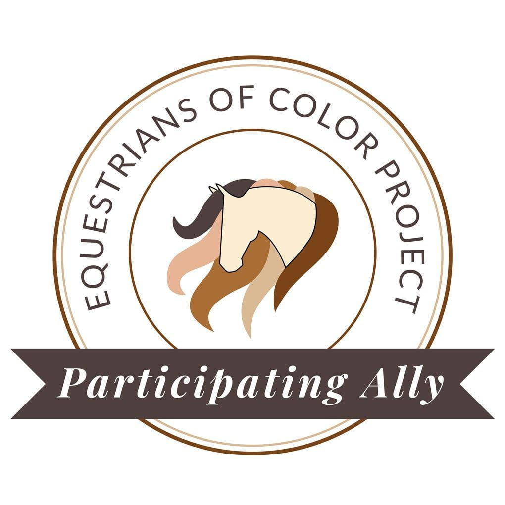 Equestrians of Color Project Logo