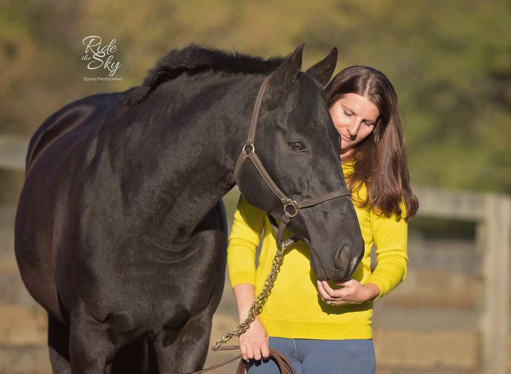 Horse and Girl Portrait in Chattanooga Tennessee from the image portfolio of Ride the Sky Equine Photography