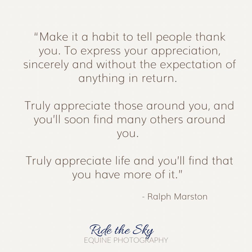 Ralph Marston Quote
