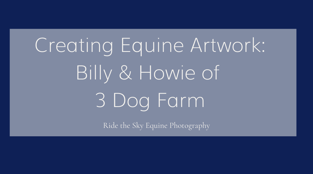 Chattanooga Horse Photography: Creating Equine Artwork of Billy & Howie